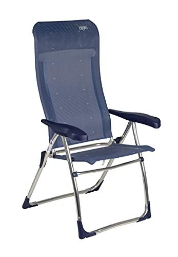 Crespo - Silla reclinable AL-215 - 7 posiciones - Azul marino
