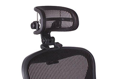 El apoyacabezas Original de la Silla Aeron H3 Carbon de Herman Miller   Colores y Malla Que Combinan con Las Sillas Aeron Clásicas 2016 y Modelos anteriores